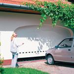 Garážová vrata rolovací speciální rozměry